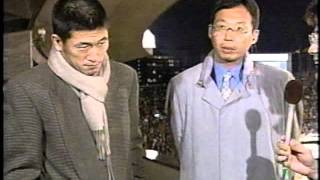 カズ&岡田監督 ツーショットインタビュー1997