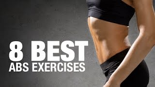 Abs Exercises for Women (8 AB-SOLUTE BEST!!) thumbnail