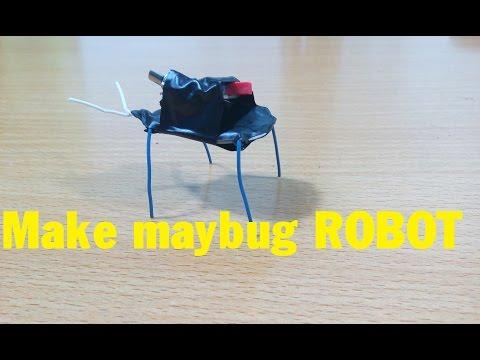 How To Make Robot Maybug, Robot Beetle