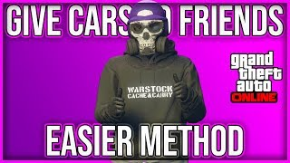 GIVE CARS TO FRIENDS GLITCH (GCTF) *EASIER METHOD*NO TIMING* (XBOX1/PS4) GTA 5 ONLINE 1.45
