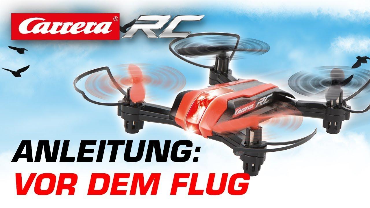 carrera rc quadrocopter vor dem flug mini race copter. Black Bedroom Furniture Sets. Home Design Ideas
