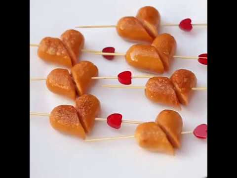 Valentine : Fruit Dish And Snack Ideas