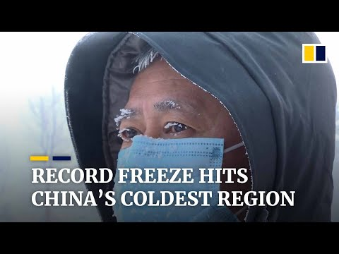 Lowest temperature in over 50 years recorded in China's coldest region, Heilongjiang province