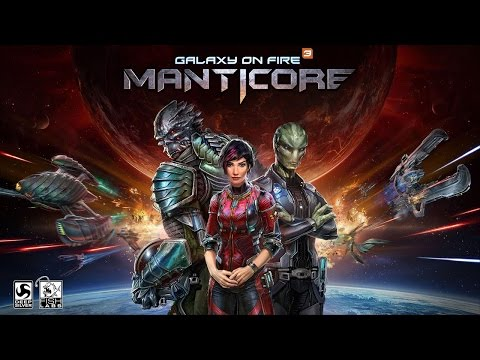 Galaxy on fire 3 - Manticore (Android Ios) - обзор, летсплей, геймплей