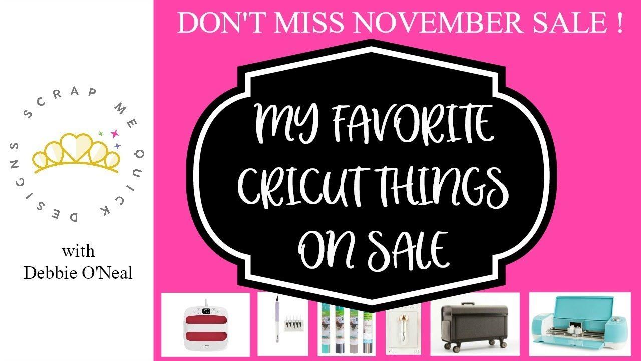 Cricut November 2018 Sale