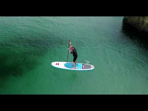 Paddle Boarding - Hayle, Cornwall, UK - Mavic Pro