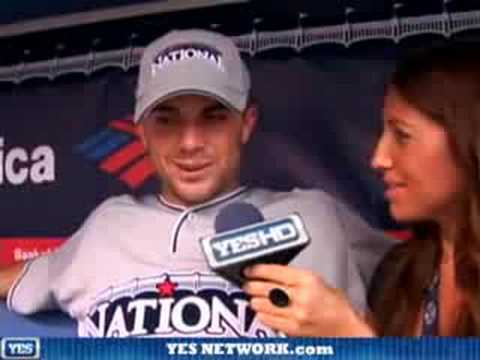 David Wright interview, 7/15/08