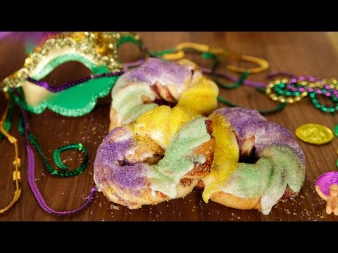 The Easiest Mardi Gras King Cake Recipe Youll Ever Make Youtube