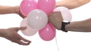 Воздушные шарики. Как самостоятельно украсить шарами.(урок 2. Знаки из шаров. ЗАКАЖИ НАБОР ПРЯМО СЕЙЧАС!!! http://market-show.com/catalog/vozdushnye_shary/nabory_sharikov