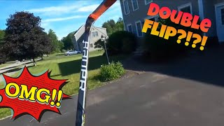 Stick flip/What I'm up to toda…