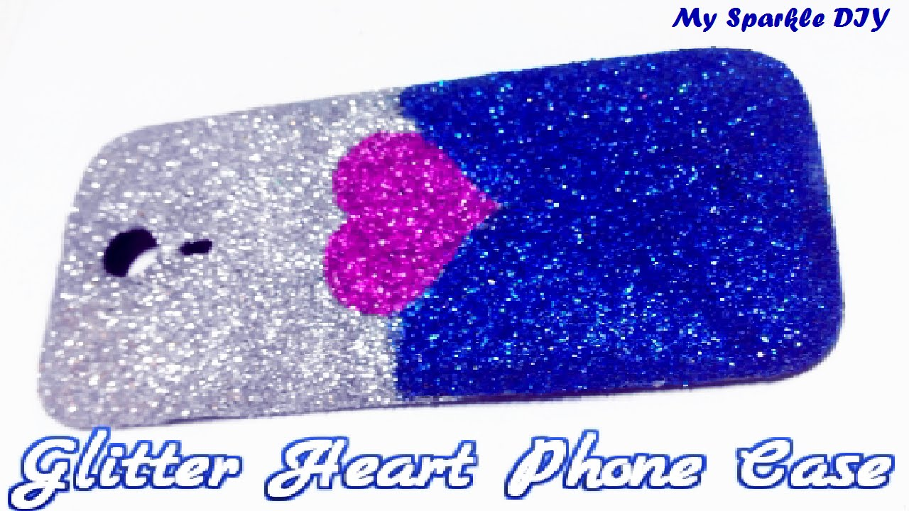 big sale f1229 d57c1 DIY Glitter Phone Case without modpodge for any phone cover