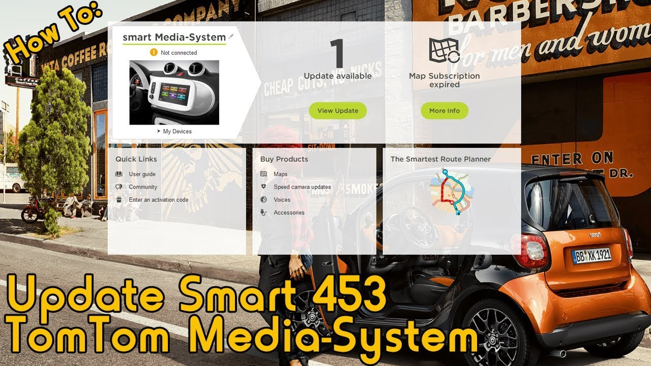 How To: Update Smart Car 453 TomTom Media System