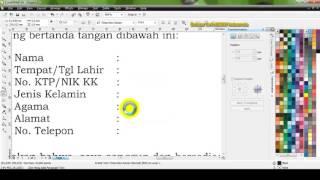Cara Menambahkan Tulisan di File PDF Menggunakan CorelDRAW