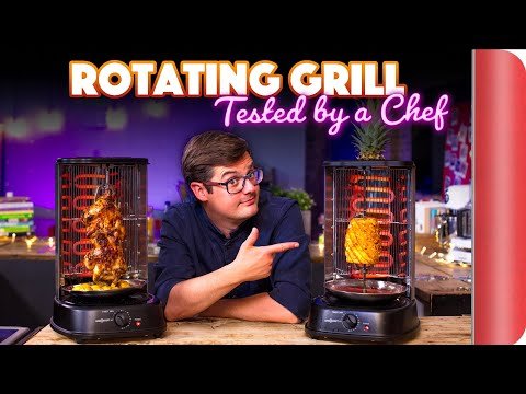 ROTATING GRILL   4 Dishes Tested By A Chef