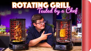 ROTATING GRILL | 4 Dishes Tested by a Chef