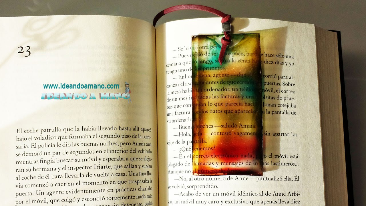 Separador de libros de colores - YouTube