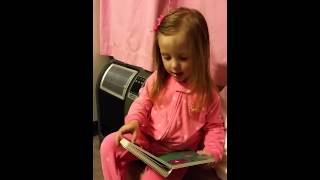 2014-09-05 Presley reads prayer book Thumbnail