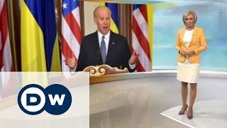 США устали от коррупции на Украине - DW Новости (08.12.2015)(Две основные беды Украины - это агрессия со стороны РФ и коррупция, считает вице-президент США Джо Байден...., 2015-12-08T17:29:00.000Z)