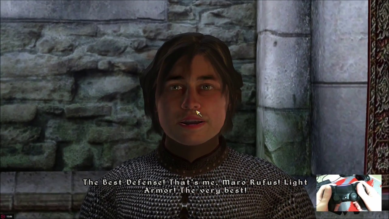 how to play oblivion with a controller on pc