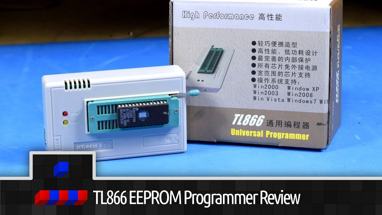 TL866II+ EEPROM Programmer Review