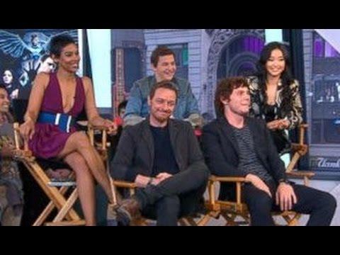 X-Men: Apocalypse Cast Visits 'GMA'