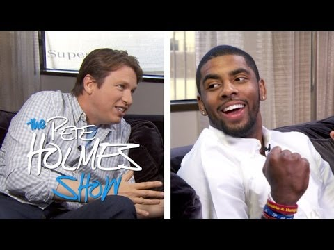 Kyrie Irving And His Long-Time Friend Pete Holmes