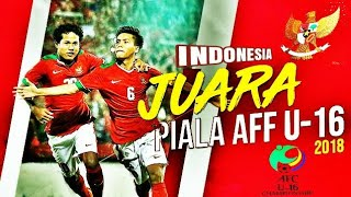 Indonesia vs Thailand (Penalti) Final U16 Champion_2018