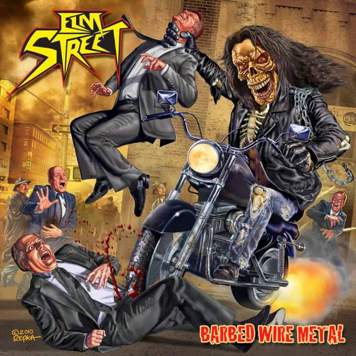 Elm Street - Barbed Wire Metal [Full Album] 2011