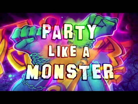 Party Like a Monster 🎵💜Official Music Video 💜Monster High Songs   4th of July Special