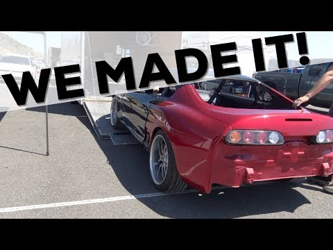 Taking my UNFINISHED Supra to Street Car Takeover Denver!