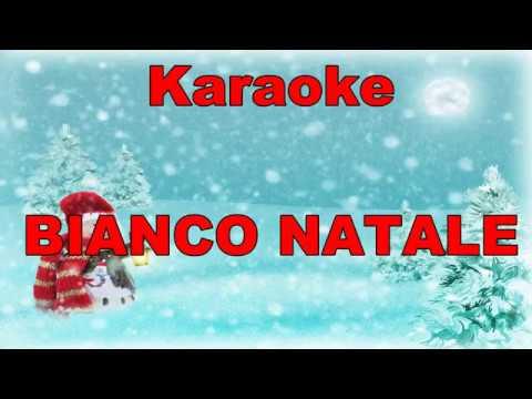 Karaoke - BIANCO NATALE (White Christmas) Canzoni di natale- con TESTO ITALIANO