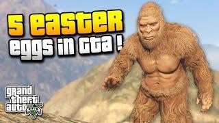 GTA 5 | 5 EASTER EGGS DIE DU VIELLEICHT NOCH NICHT KANNTEST ! | BIGFOOT, SCOOTER BROTHERS | IDzock