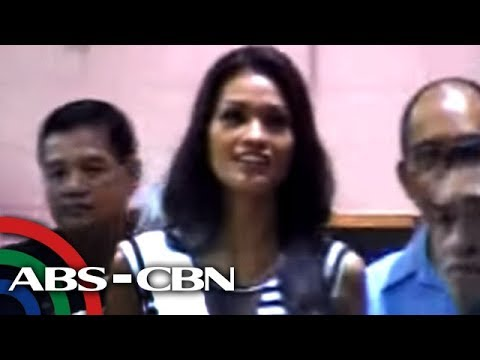 ANC Headlines: Janine Tugonon arrives in Manila