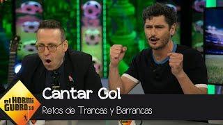 Joaquín Reyes y Antonio Pagudo juegan al 'Concurso Internacional de Cantar Gol' - El Hormiguero 3.0
