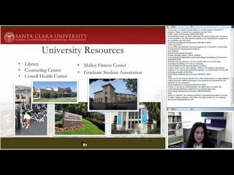SCU School of Education & Counseling Psychology Info Session