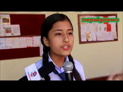 An Excellent Speech against Corruption by 11 Years  School Student at Kathmandu.