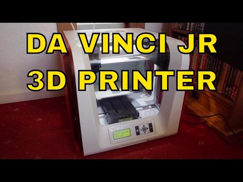 $200 XYZprinting da Vinci Junior 3D Printer Review