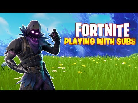 🔴 SUB-DAY SATURDAY!! COME AND PLAY FORTNITE WITH ME!! (DUB TIME)