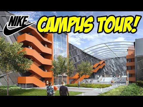 NIKE CAMPUS TOUR! WHAT DID WE CHECK OUT?