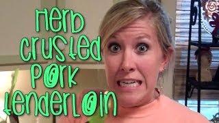 Herb Crusted Pork Tenderloin Recipe - Cooking With Katiepie