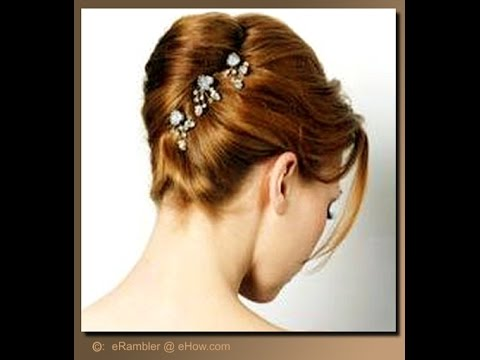 Hairstyle French Roll Sweet Hair Design Youtube