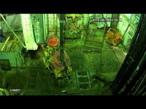 Падение верхнего привода на буровой/ Accident Rig Drilling (crash Top Drive)