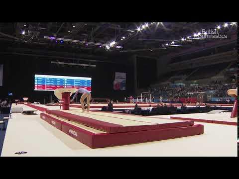Mali Morgan - Vault - 2018 British Gymnastics Championships - WAG Espoir AA Sub 2
