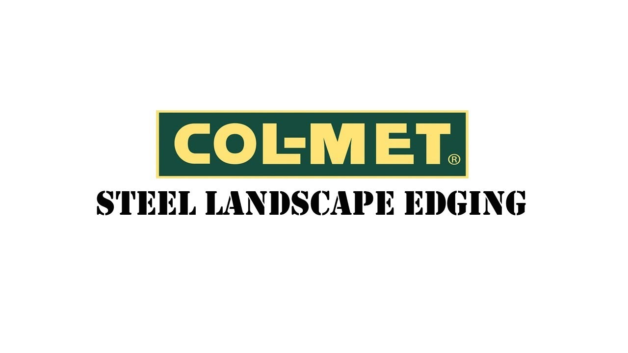 Col-Met Steel Landscape Edging Installation and Tips - Col-Met Steel Landscape Edging Installation And Tips - YouTube