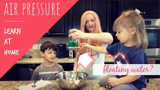 Science Experiments for Kids to do at Home | Air pressure for Kids