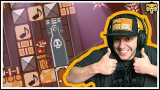 Super Mario Maker: Super Expert Mario 3 Only: Carl Troll Level Strikes Back!