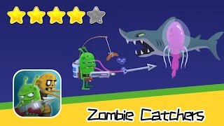 Zombie Catchers Day142 Level UP 69 Walkthrough Lagoon Recommend index four stars