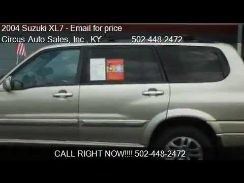 2004 suzuki xl7 lx 4wd 4dr suv for sale in louisville ky 40 youtube. Black Bedroom Furniture Sets. Home Design Ideas