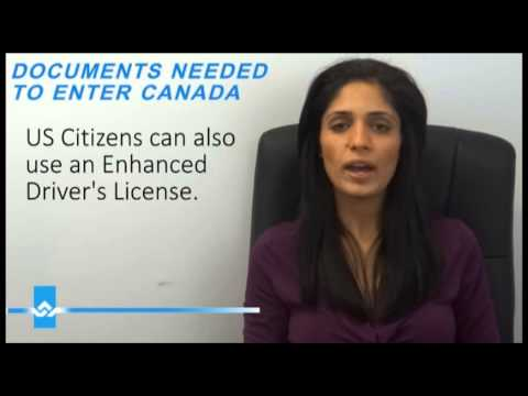 Documents Needed To Enter Canada Or United States