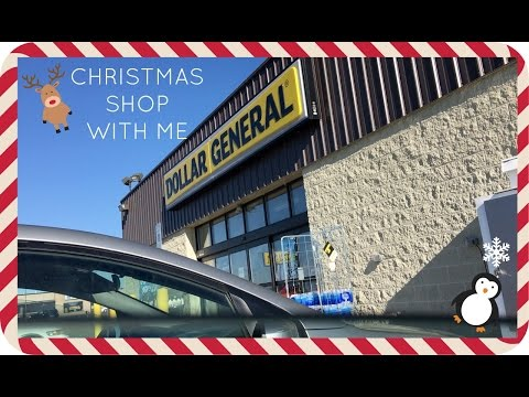 CHRISTMAS SHOP WITH ME + HAUL | DOLLAR GENERAL